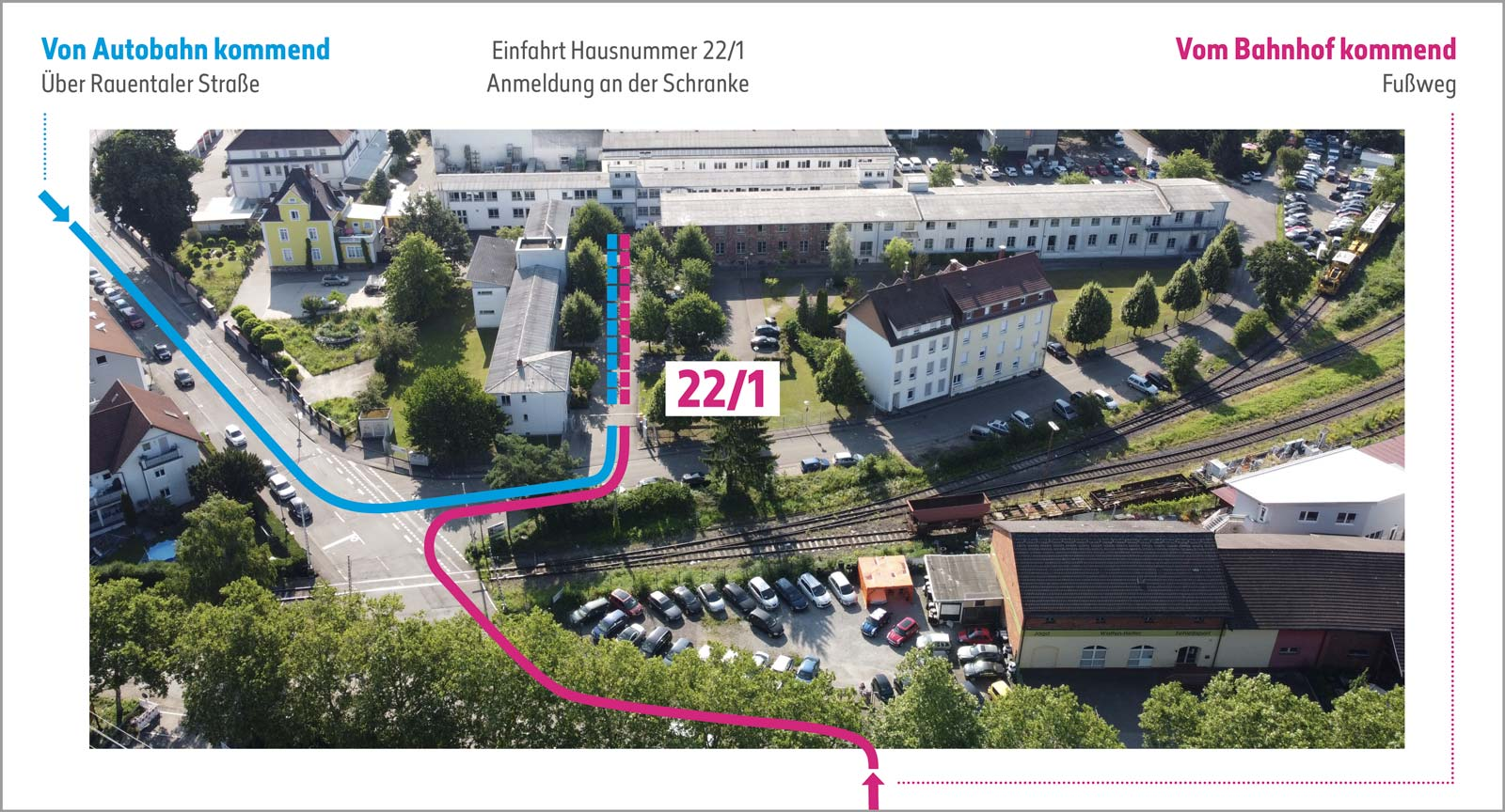 DeviceMaster GmbH – Technischer Dienstleister Medizintechnik – Anfahrt Büro Rastatt